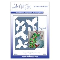 JND135 - Holly Die Plate - Christmas Collection - John Next Door