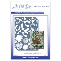 JND137 - Christmas Elements Plate - Christmas Collection - John Next Door