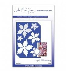 JNDCC017  - Poinsettia Die - Christmas Collection - John Next Door