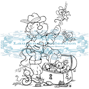 LAU020 ~ EXPLORER ~ Laurence Collection stamp
