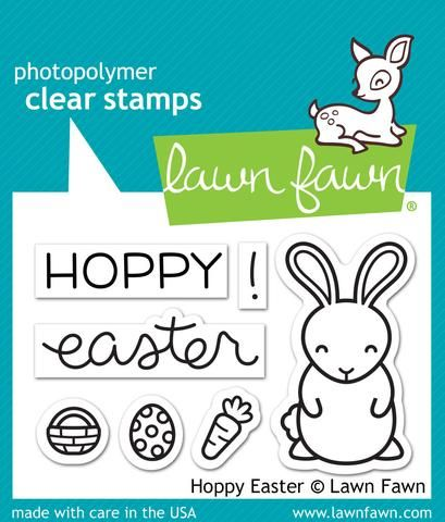 LF1319S ~ Hoppy Easter ~ CLEAR STAMPS BY LAWN FAWN
