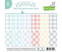 LF1647 ~ GOTTA HAVE GINGHAM ~ 6X6 PAPER PACK BY LAWN FAWN