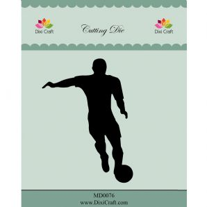 MD0076  Football ~ Dixi Craft Cutting Die
