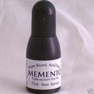 NEW SPROUT Re-Inker for Memento ink pad, 15ml bottle