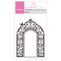 PCFD005 ~ Porton ~ Presscut by Crafts Too Embossing Folder & Die Cut