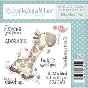 RAM-S-WILD ~ WILD ABOUT YOU ~ CRAFTERS COMPANIONS designed by RACHELLE ANNE MILLER ~ rubber stamp
