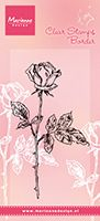 TC0846  TINY'S SINGLE ROSE ~  Marianne Designs Clear stamp