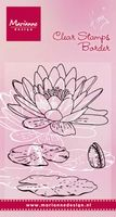 TC0850  Tiny's Waterlily ~  Marianne Designs Clear stamp