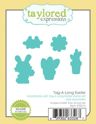 TE515 ~ TAG-A-LONG  EASTER ~ dies by Taylored Expressions