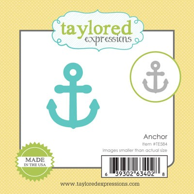 TE584 ~ LITTLE BITS - ANCHOR ~ dies by Taylored Expressions