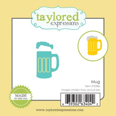 TE586 ~ LITTLE BITS - MUG ~ dies by Taylored Expressions