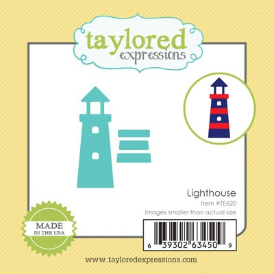 TE620 ~ LITTLE BITS - LIGHTHOUSE ~ dies by Taylored Expressions