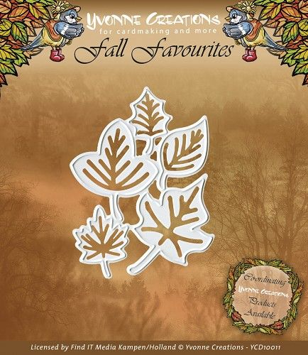 YCD10011 ~ Fall Favourites Leaves ~ Yvonne Creations