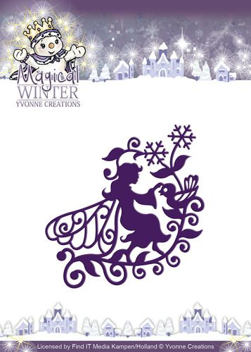 YCD10043 ~ Magical Winter Fairy ~ Yvonne Creations