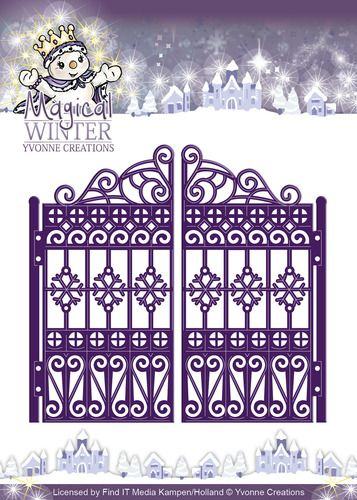 YCD10044 ~ Magical Winter Gate ~ Yvonne Creations