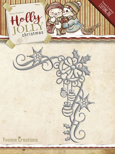 YCD10072 ~ Holly Jolly Christmas ~ Holly Jolly Christmas Decoration ~ Yvonne Creations