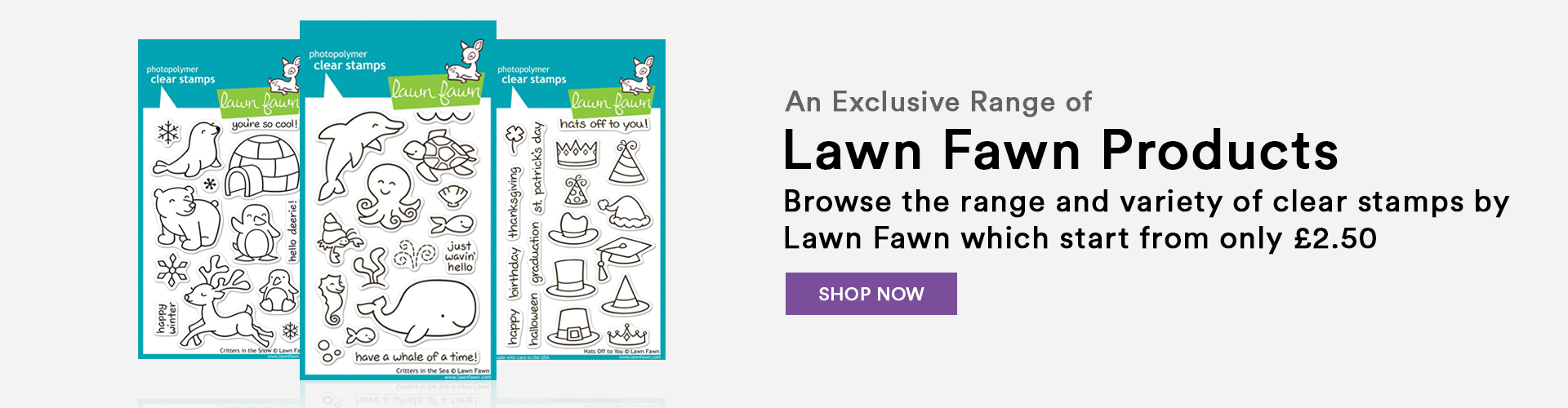 Lawn Fawn Banner